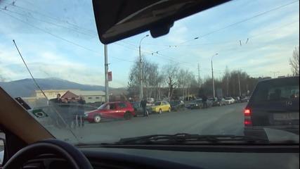 Протест против високите цени на горивата 13.03.2011