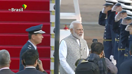 Modi arrives in Brasil ahead of BRICS summit