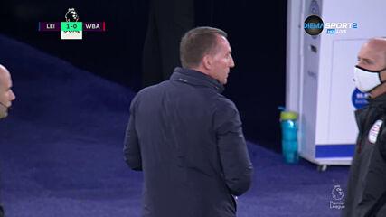 Лестър поведе срещу Уест Бромич
