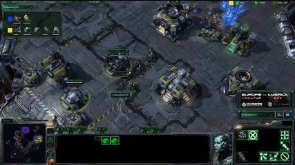 Bratok vs Slush - Game 5 - Tvz - America vs Europe - Scrap S