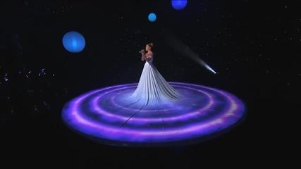 """Роклята на Дженифър Лопез превърната в екран """" Feel the Light"""" - American Idol"""