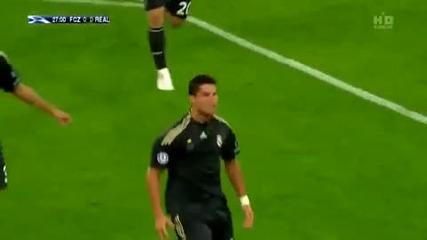 Cristiano Ronaldo Real Madrid 2010 Rihanna Rude Boy Hd