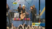 Miley Cyrus Ft. Bret Michaels - Every Rose Has Its Thorn (live On Good Morning America)