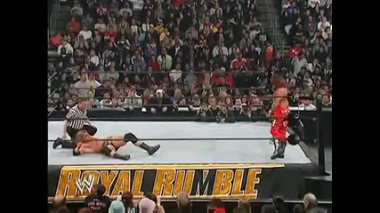 Wwe Royal Rumble 2004 Shawn Michales vs Triple H
