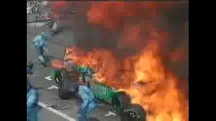 Формула1 Пожар
