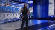 wwe the shield roman reigns superman punch and spear and win