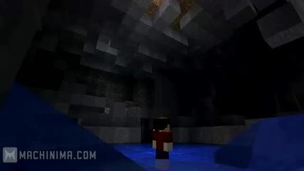In Search of Diamonds(minecraft Machinima)