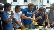 Колко банана може да изядете за 1 минута?