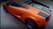 Уникалнo изпълнение - Lamborghini Gallardo + Titanium Gunmetal Vxs110 Vip Modular