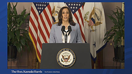 USA: 'We must stand together', VP Harris tells Brussels forum in video address