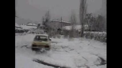 Кръгове В Снега
