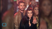 Kourtney Kardashian -- Frowny Faced Scott Disick Front and Center for Birthday Bash