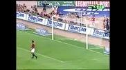 Roma - Milan - Montella Goal