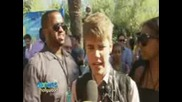 Interview with Justin Bieber and Selena Gomez ( Teen Choice Awards 2011 ...