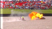 Най - големите катастрофи в Motogp през 2014 Moto2™ 2014 Biggest crashes
