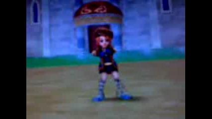 Герой От Rose Online Танцува На Песента Too Cool - Tess Camp Rock