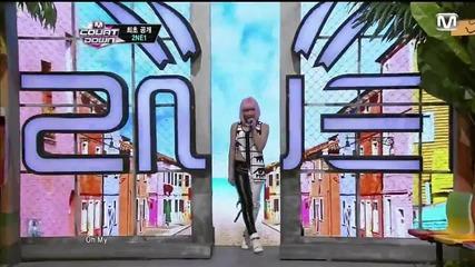 (hd) 2ne1 - Falling In Love ~ M Countdown (11.07.2013)