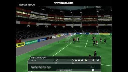 Fifa 09 Corner Goal