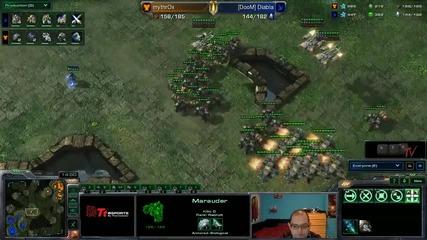 Starcraft 2: Mythrox[t] vs Diabla[p] - Eps квалификация #05