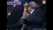Награждаване - Бразилия Спечели Купата на Конфедерациите