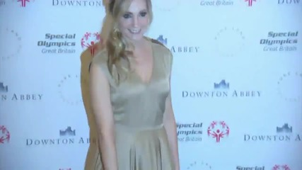 Downton Abbey Stars Help The Special Olympics