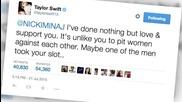 Nicki Minakj/Taylor Swift Feud Drags in Kim Kardashian, Ed Sheeran, & More!