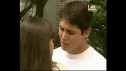 Пандора и Жоржи-първа целувка
