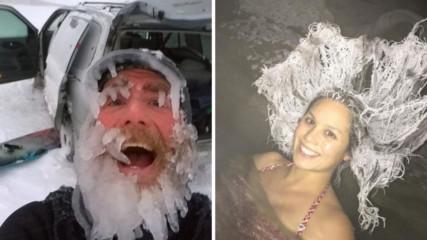 Със зимата шега не бива! 9 примера за забавната страна на сезона