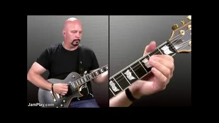 Урок по китара - Ac - Dc Back in Black