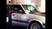Subaru Leone Wagon на Дино тест