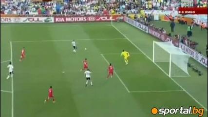 Германия - Англия 4:1 + състава