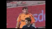 Iker Casillas paradones vs Sevilla