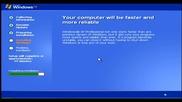 Ето как се инсталира Windows Xp