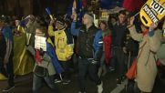 Romania: Thousands march against fiscal reform in Bucharest