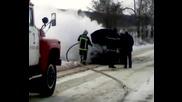 pojar do selo cenovo izpepeli leka kola s gazova uredba barzata namesa na pojarnata predotv