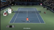 Dubai 2015 - Monday Hot Shot By Federer