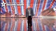 дядо танцува брейк .. *(смях в великобритания търси талант)