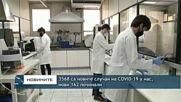 3568 са новите случаи на COVID-19 у нас, нови 162 починали Бланк: Нови 3