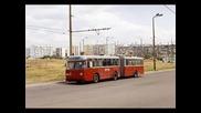 Градския транспорт в Бургас през 2003г.