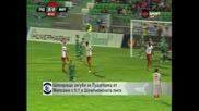"""Шокираща загуба за """"Лудогорец"""" от """"Милсами"""" с 0:1 в Шампионската лига"""