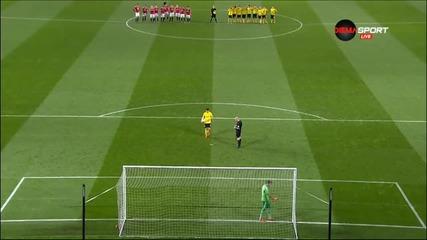 Мидълзбро надигра Манчестър Юнайтед при дузпите