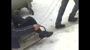 spuskane na led