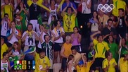 Athens 2004 | Olympic Games | Volleyball Men's Gold Medal Match - two great saves of Giba