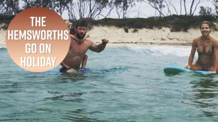 See the Hemsworth's epic family vacay photos