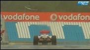 Lewis Hamilton essais Mclaren Mercedes 2009