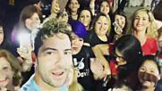 David Bisbal Con Fans En Argentina