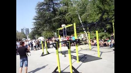Първи сет на състезанието в Пловдив
