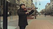 Sofia Street Music - Моцарт - Турски марш - кавър на Дани цигулка