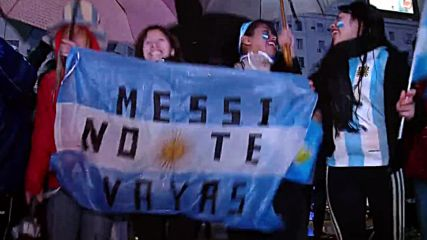 Argentina: Lead us Messiah! Messi fans demand 'world's best player' stay in intl. squad