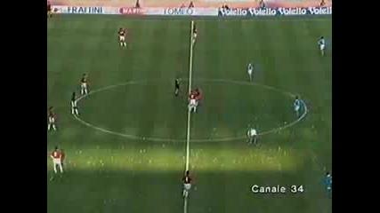 Napoli Milan 1 : 0 Paolo Di Canio 1994